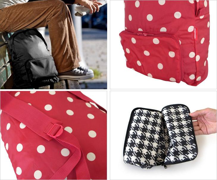 Рюкзак складной mini maxi кожаный фото рюкзак